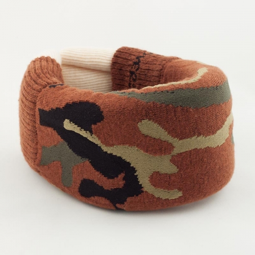 Brown Camo Cervical Collar Cover