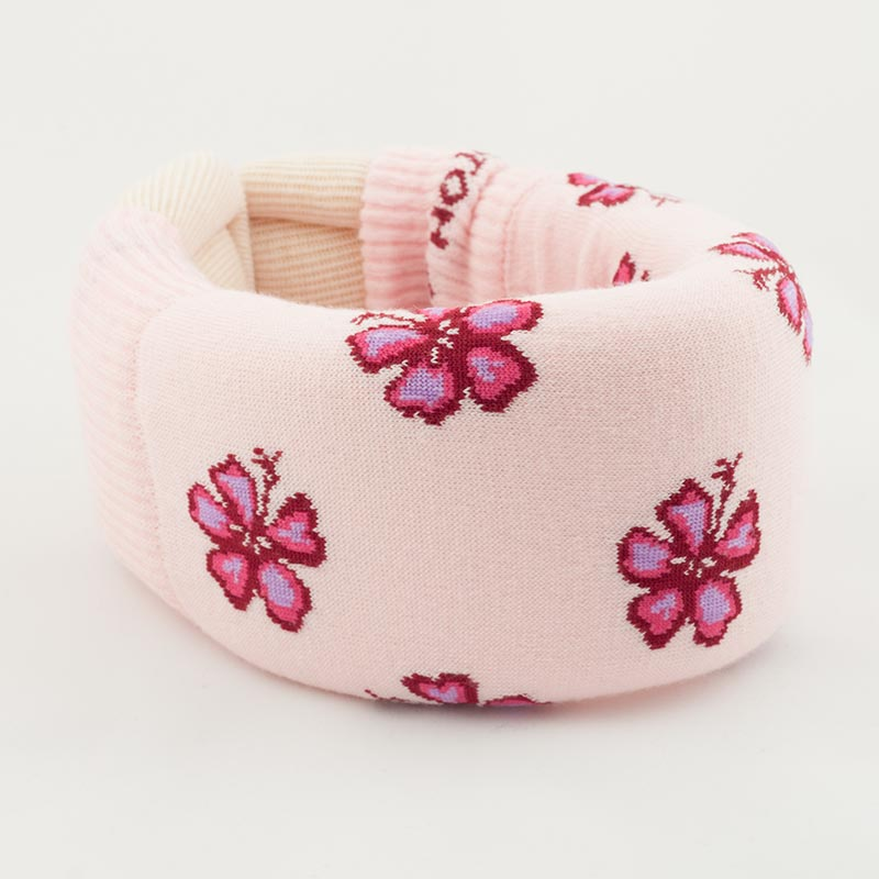 Pink tropical flowers collar cover custom collar covers pink tropical flowers collar cover mightylinksfo