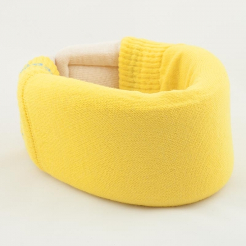 Yellow Cervical Collar Cover
