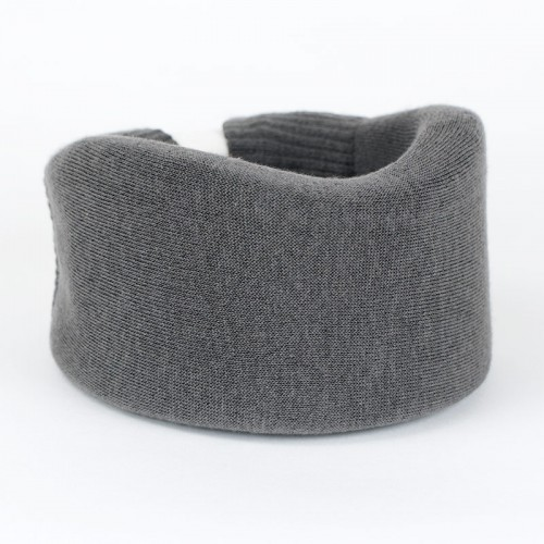 Dark Gray Cervical Collar Cover