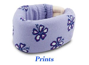 Cervical Collar Covers with Printed Designs