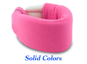 Cervical Neck Collar Covers with Solid Colors
