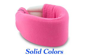 Cervical collar covers with solid colors!
