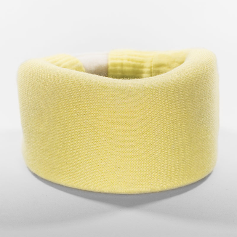 Pastel Yellow Cervical Collar Cover
