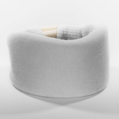 White Cervical Collar Cover